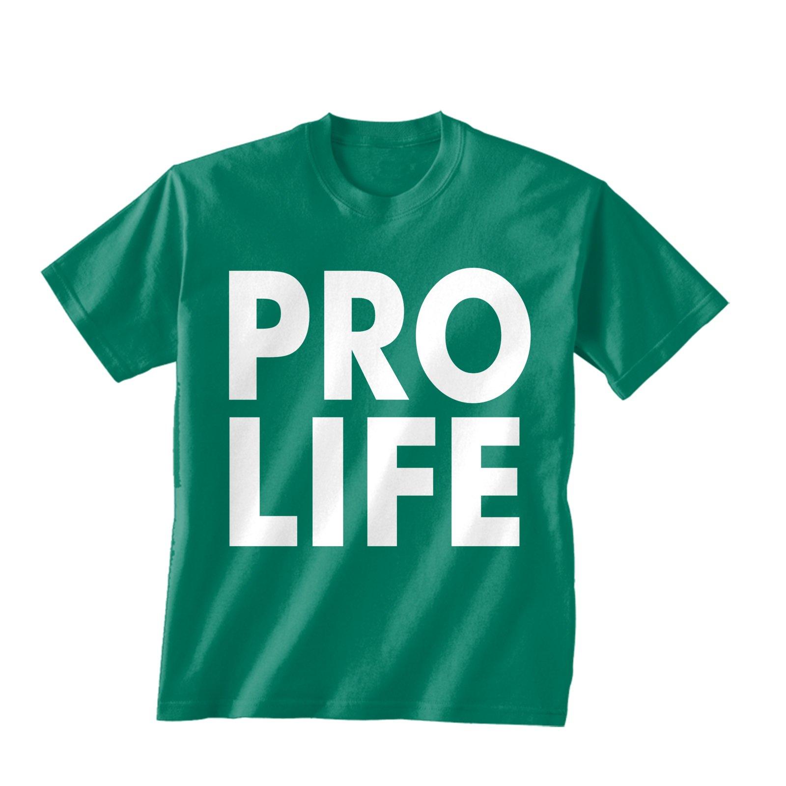 Pro-Life T-Shirt – Green